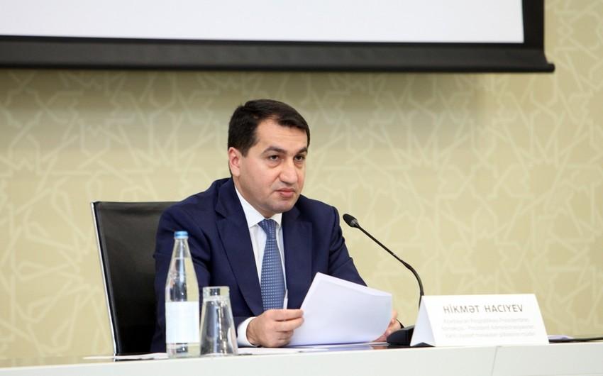 Prezidentin köməkçisi: Azərbaycan Ordusu qadın, uşaq və yaşlılara qarşı müharibə aparmır