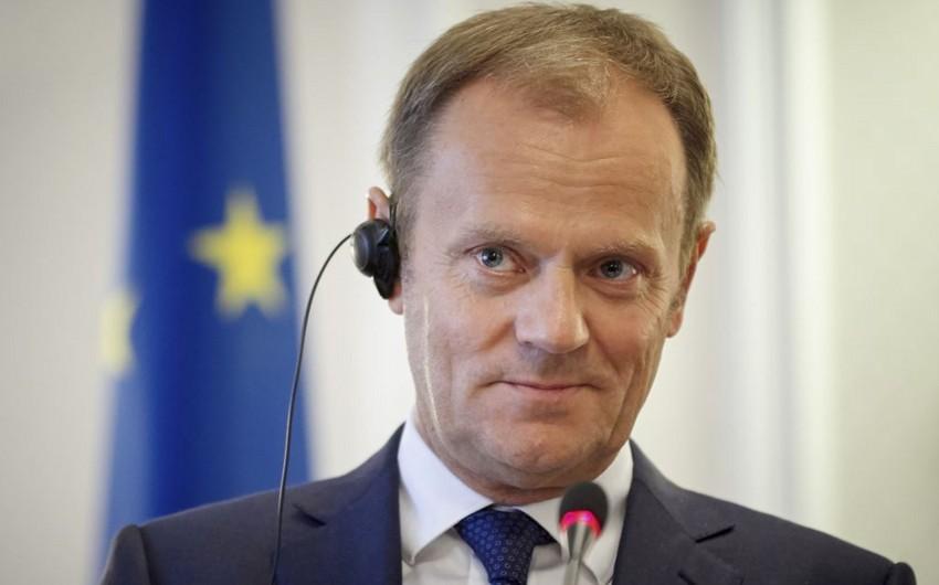 Donald Tusk: Brexit sazişi layihəsi dəyişdirilə bilməz