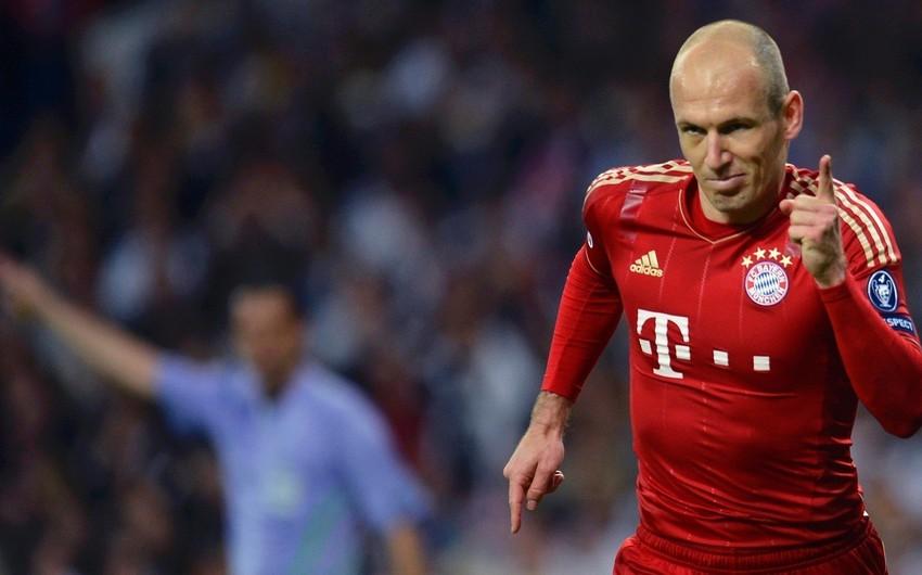 Bavariya klubu Robbenlə müqavilə müddətini artırıb