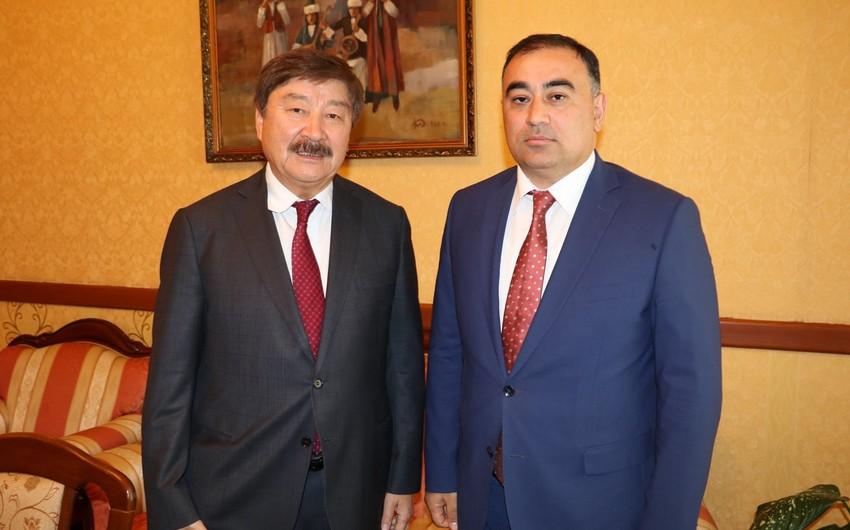 Azərbaycan səfiri TÜRKSOY-un medalı ilə təltif edilib