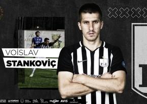 Neftçi serbiyalı futbolçu ilə müqaviləni yenilədi