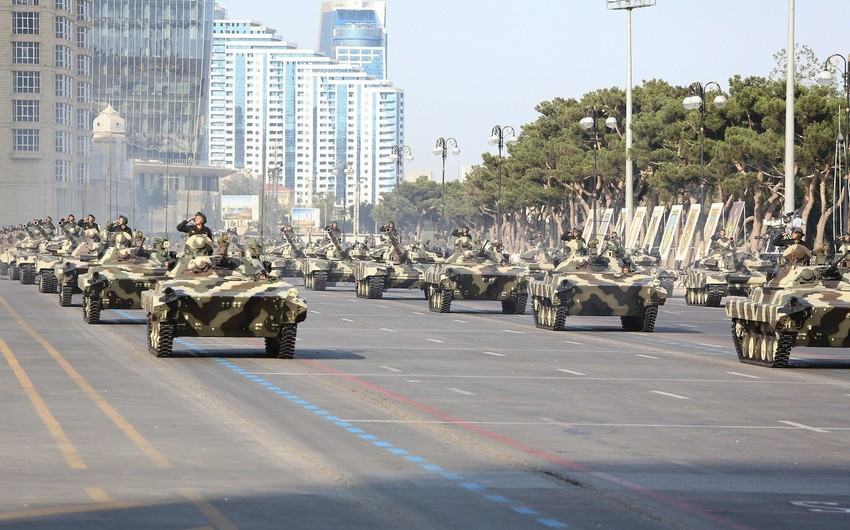Azerbaijan celebrates 100th anniversary of the Armed Forces