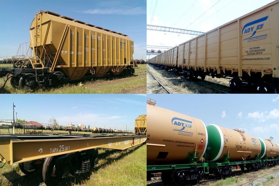 Азербайджан закупил у России 2 255 новых вагонов
