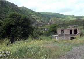Освобожденное от оккупации село Галача Лачинского района