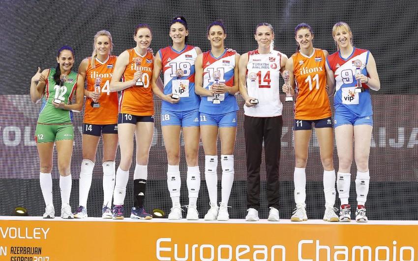 Valeriya Məmmədova Avropa çempionatının arzular komandasına düşüb