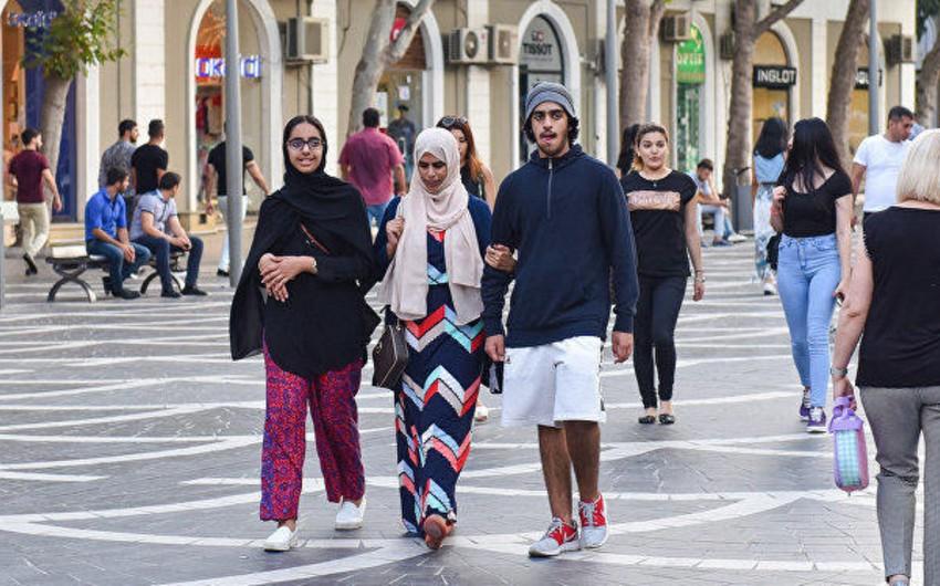 Azərbaycana gələn xarici turistlərin artım tempi zəifləyib