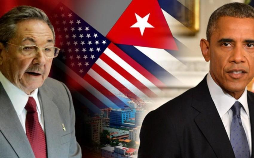 ABŞ Kubaya qarşı bir sıra sanksiyaları ləğv edib