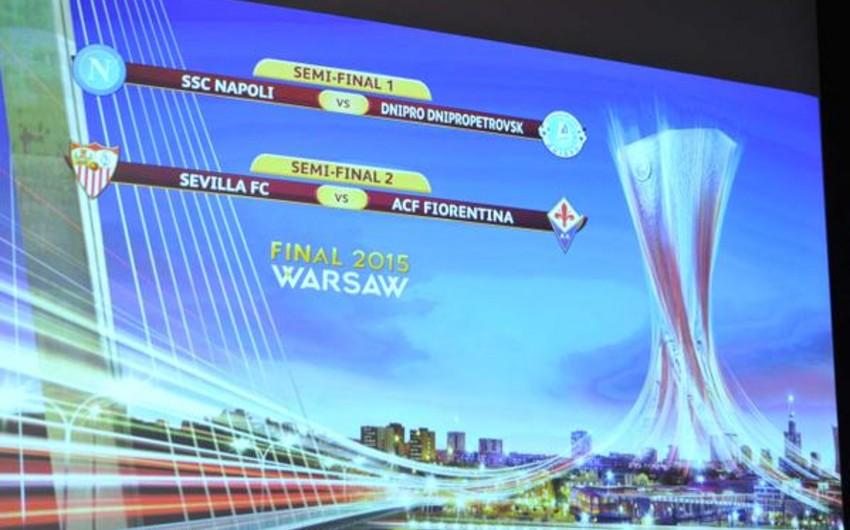 Avropa Liqasının yarımfinalında İtaliya dueli olmayacaq