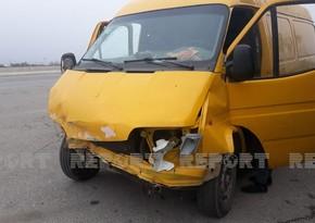 В Кюрдамире произошло ДТП, есть пострадавший