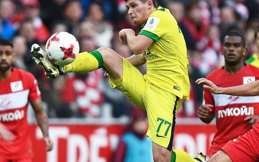 Азербайджанский футболист еще на год отдан в аренду клубу Анжи