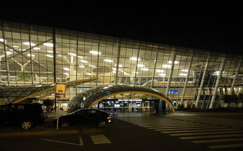 Heydər Əliyev Beynəlxalq Aeroportu ştat rejimində fəaliyyət göstərir