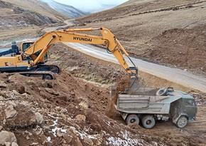 MN: Kəlbəcər və Laçında 580 km-dən çox torpaq örtüklü yollar inşa edilib