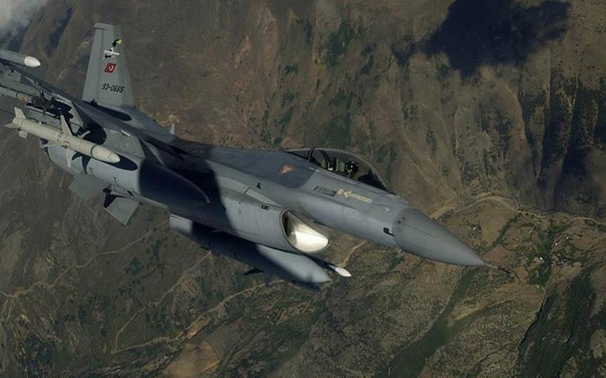 Türkiyə Hərbi Qüvvələri PKK-nın İraqdakı mövqelərinə zərbələr endirib