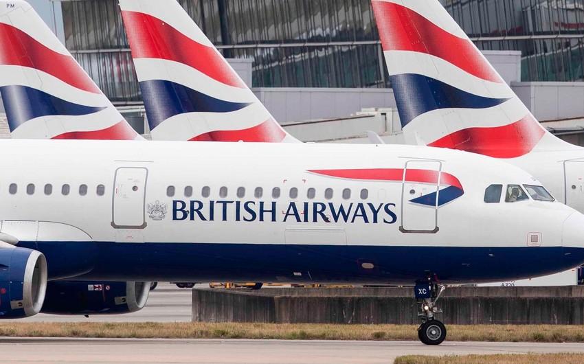 """""""British Airways"""" 20 milyon funt sterlinq cərimələnib"""