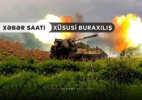 """""""Xəbər Saatı"""": Xankəndində hərbi hissə darmadağın edildi"""