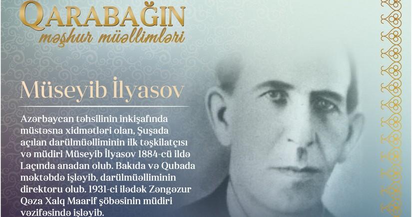 Знаменитые учителя Карабаха – Мусеиб Ильясов