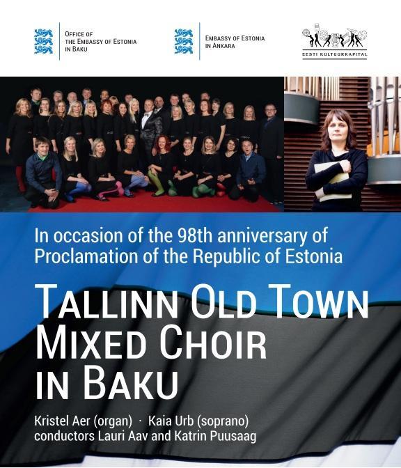 Baku to host a presentation of Estonian choir