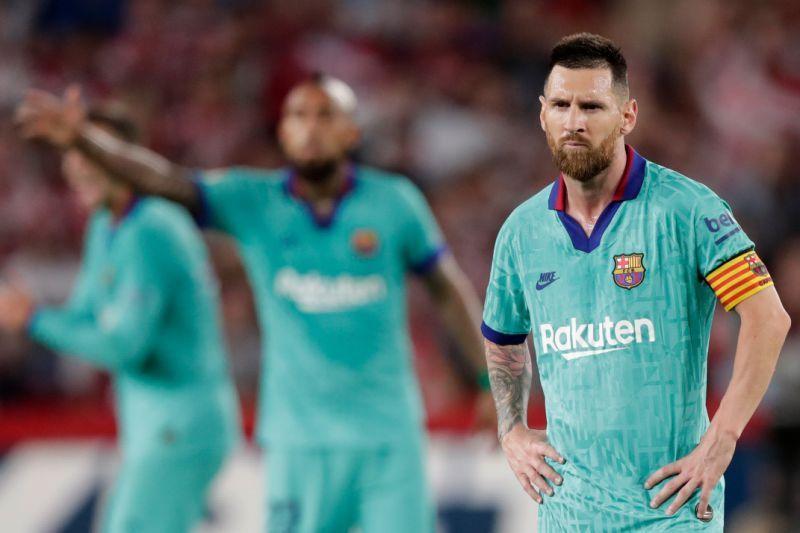 """Messi """"Barselona""""nın futbolçularını danlayıb"""