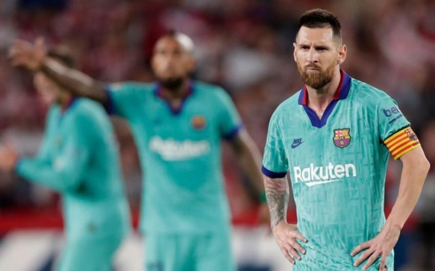 Месси отчитал игроков Барселоны
