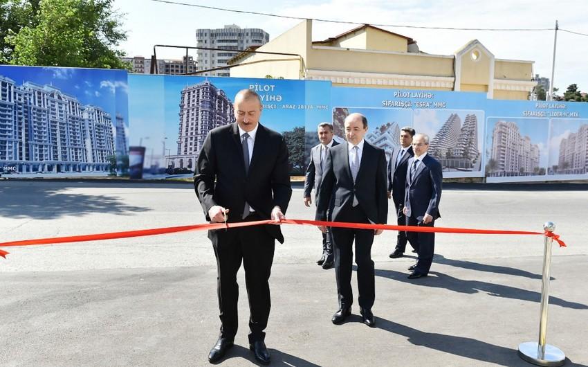 Prezident İlham Əliyev Nərimanov Rayon Məhkəməsinin yeni inzibati binasının açılışında iştirak edib - YENİLƏNİB