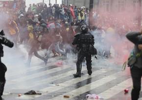 Почти 70 человек пострадали за день протестов в Боготе