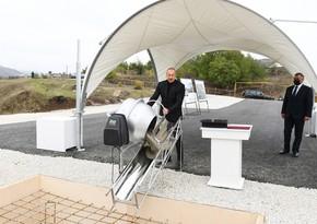 Президент посетил поселок Гадрут и cело Туг