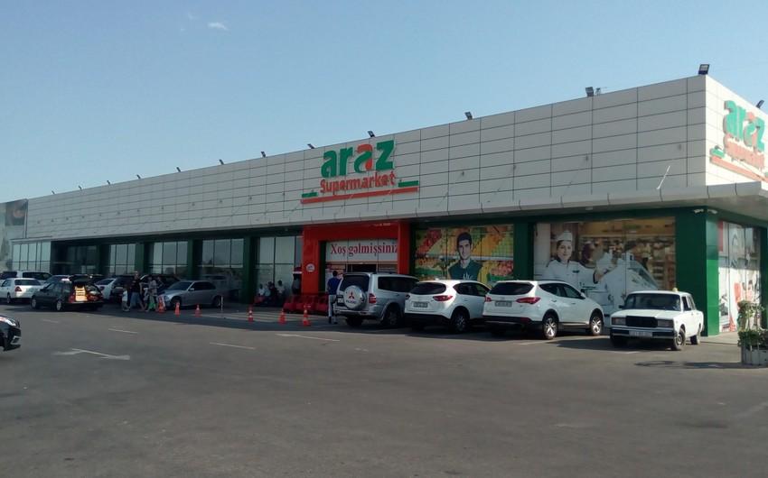 """Gömrük Komitəsi """"Araz Supermarket""""ə inzibati protokol yazdı"""