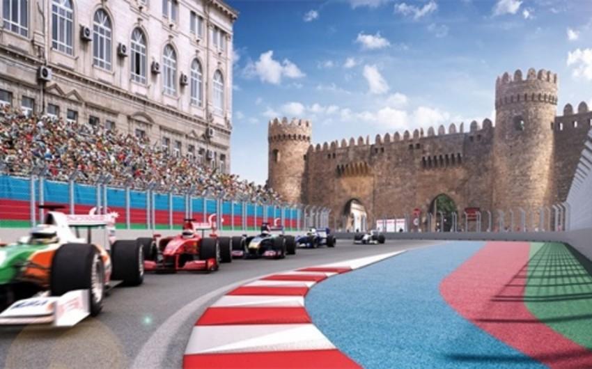 Sabah Bakıda ilk dəfə Formula 1 üzrə Avropa Qran Prisi start götürəcək