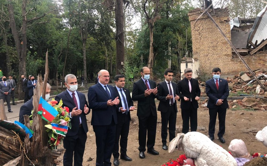 İƏT nümayəndələri Gəncədə faktaraşdırıcı missiya həyata keçirib