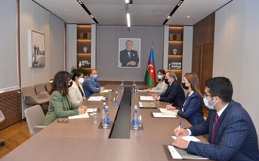 Ceyhun Bayramov Dünya Bankının Azərbaycan üzrə meneceri ilə görüşüb