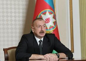 Ильхам Алиев: Чтобы накопить силы, должна проводиться правильная политика