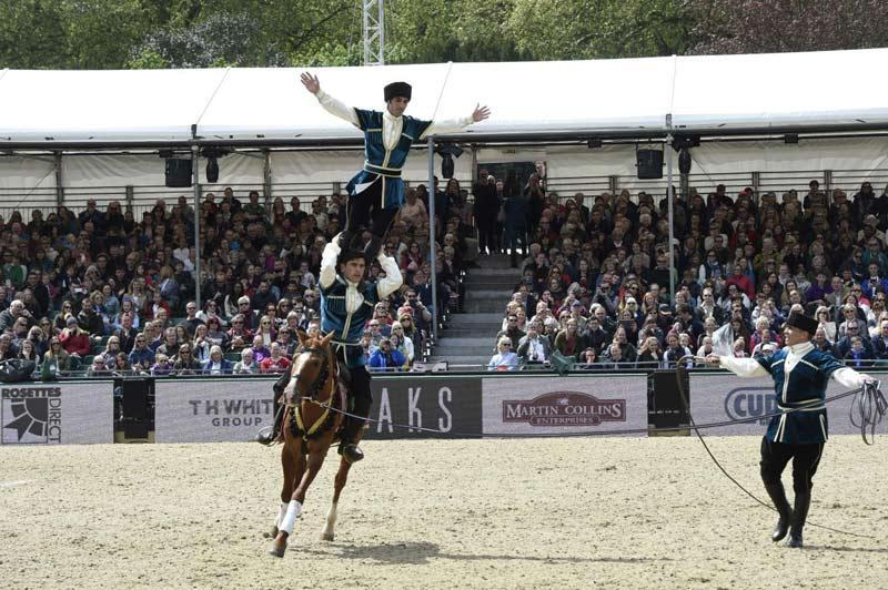 Royal Windsor Horse Show will feature performances of Azerbaijani riders on Karabakh horses