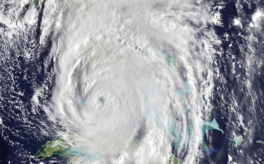 Atlantik okeanı üzərində Mariya tropik fırtınası formalaşıb