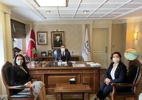 Омбудсмен Сабина Алиева находится с визитом в Турции