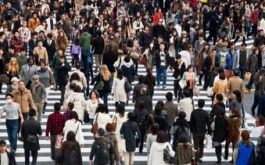2014-cü ildə dünya əhalisi 80 milyon nəfər artıb