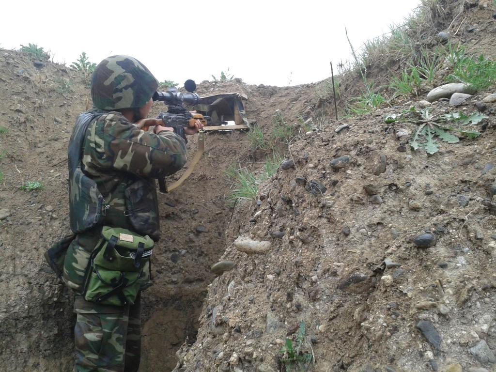 Ermənistan silahlı dəstələri Azərbaycan Ordusunun mövqelərinə 5 mərmi atıb
