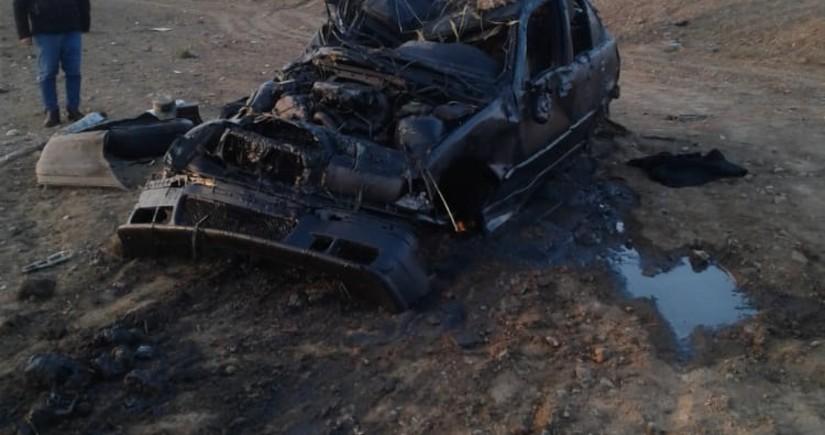 Тяжелое ДТП в Билясуваре, есть погибший и раненые