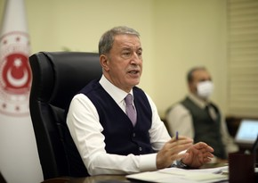 Hulusi Akar: We support peaceful end to tensions between Ukraine and Russia
