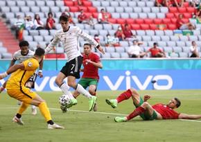 Portuqaliya - Almaniya oyununda rekord və antirekordlar