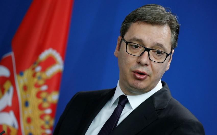 Попавший в больницу президент Сербии назвал дату выхода на работу