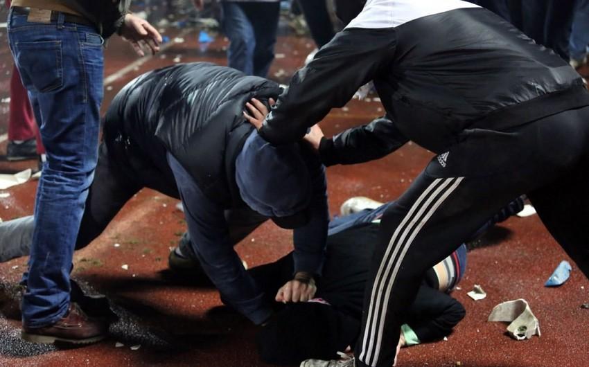 Tbilisidə federasiya nümayəndələri ilə azarkeşlər arasında dava düşüb