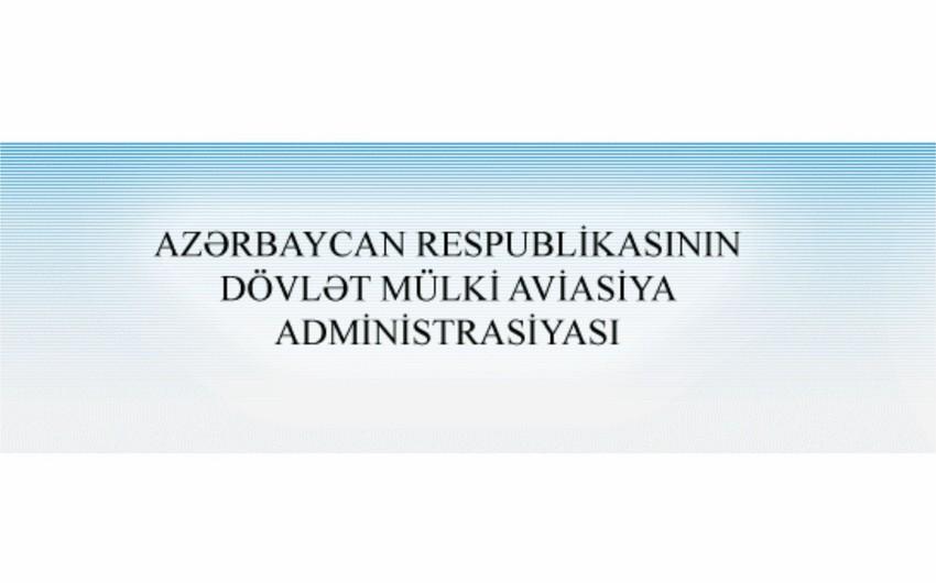 Госадминистрация гражданской авиации: Нет никаких ограничений в использовании воздушного пространства Азербайджана
