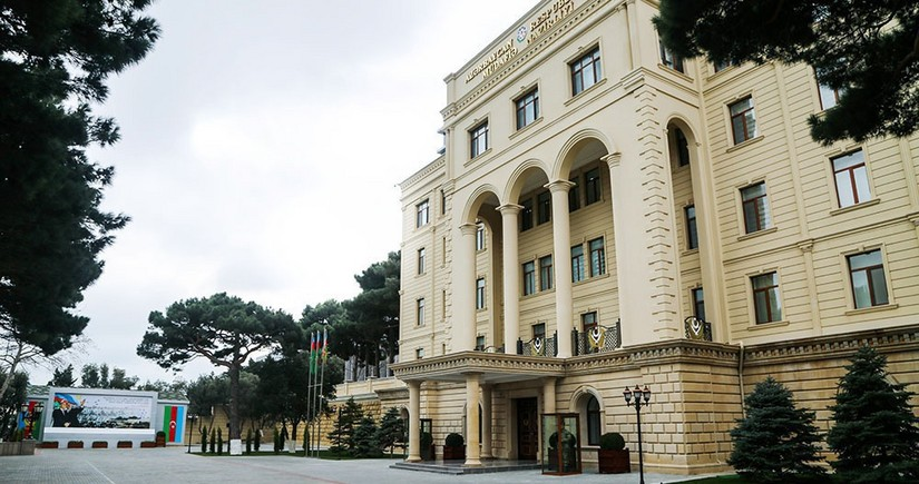 MN: Düşmən Gorusdan Azərbaycan ərazilərini yenidən raket atəşinə tutub
