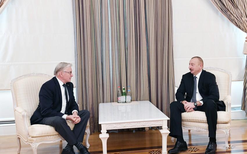 Prezident İlham Əliyev Niderland Krallığı Senatının sabiq sədrini qəbul edib - YENİLƏNİB