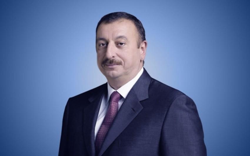Президент Ильхам Алиев поздравил православную христианскую общину Азербайджана