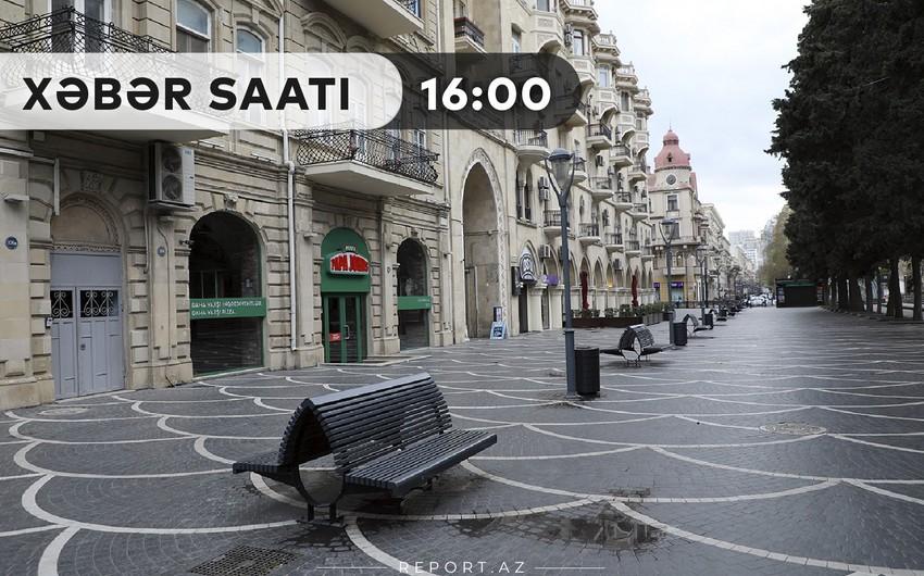 """""""Xəbər Saatı"""" : Sabah küçələrə çıxmaq təhlükəlidir"""