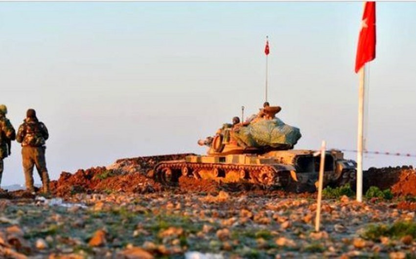 Türkiyə ordusu Fərat çayının şərq hissəsinə daxil olub