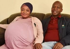 В ЮАР женщина установила мировой рекорд, родив десятерню