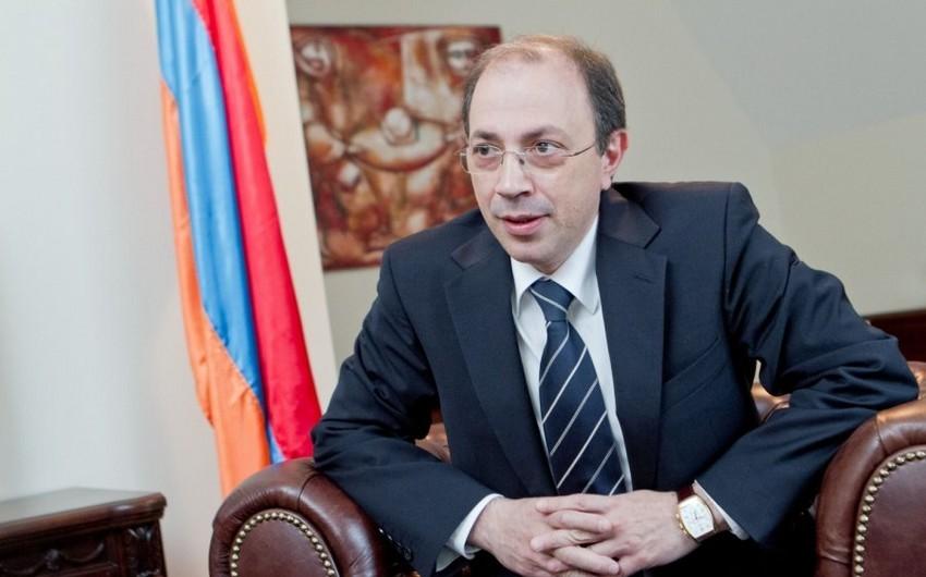 Глава МИД Армении едетв Москву