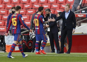 Ronald Koeman: No one can help Messi